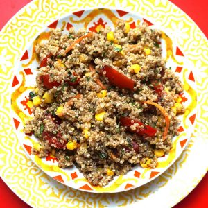 QUINOA CORN SALAD SM SQ
