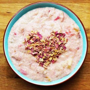 RHUBARB PORRIDGE SM lighter SQ